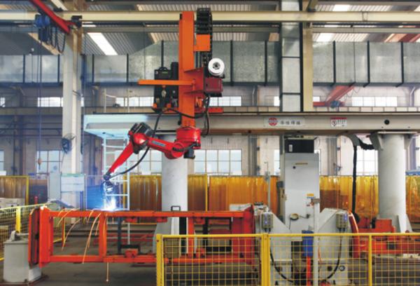 杭州叉车焊接机器人