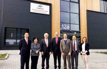 杭州叉车欧洲公司正式挂牌营业