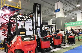 杭叉集团参展第十一届温州(中国)机械设备展览会