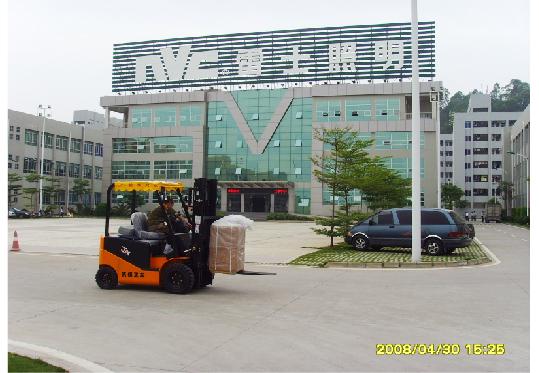雷士照明采购杭州叉车案例