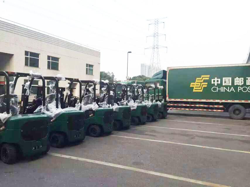 中国邮政采购杭州叉车案例