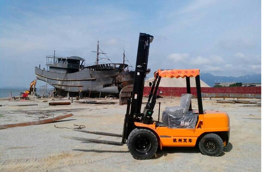 南澳造船廠采購杭州叉車案例