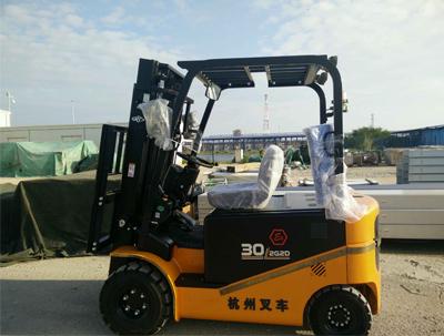 揭阳潮汕机场采购杭州叉车案例