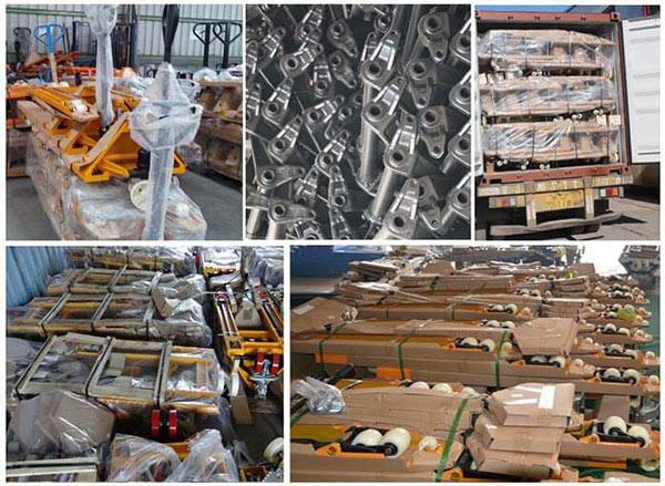 杭州叉车   如何降低手动搬运车在物流运输中的损伤?