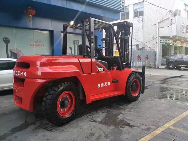 杭州叉车丨内燃叉车的优点,了解一下