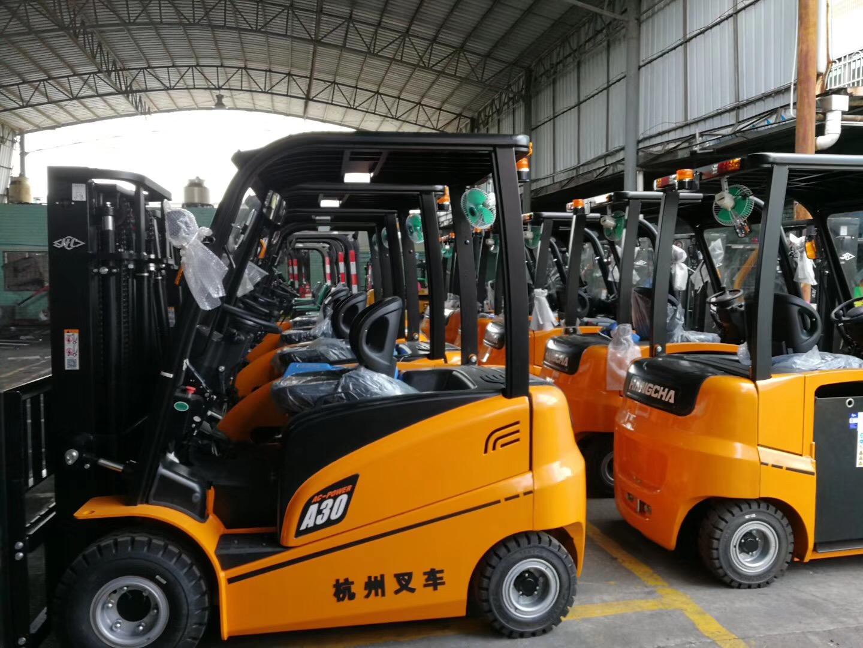 杭州叉车 | 关于电动叉车电路出现短路故障