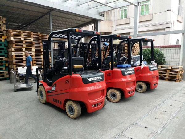 杭州叉车丨关于电动叉车的优势