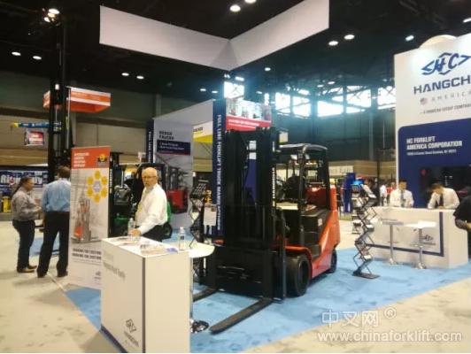 【展会】杭州叉车亮相2019ProMat展  显中国叉车品牌风采