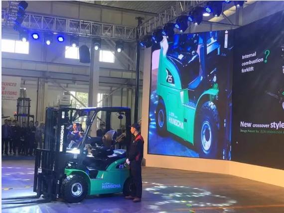 【喜讯】杭叉家族新成员来了!新能源叉车助力新制造业