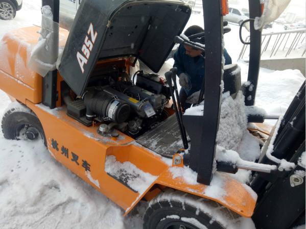【干货】叉车倾斜油缸的安装位置及拆解方法