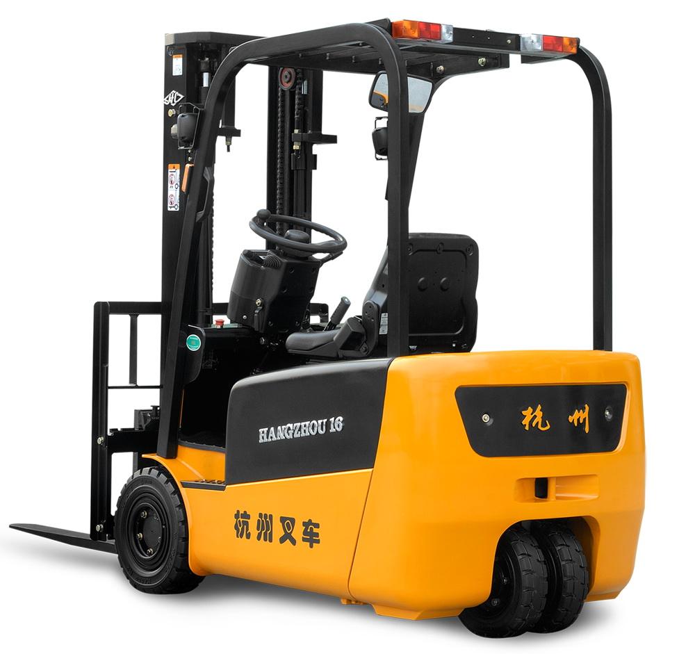 J系列1.3-2吨三支点蓄电池叉车