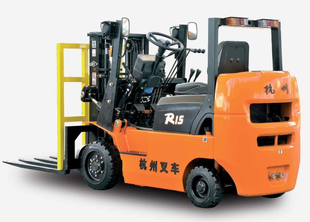 R系列1.5-1.8吨内燃小轴距叉车(铁路专用)
