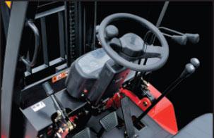 2.先进的人机工程技术-杭州叉车内燃叉车