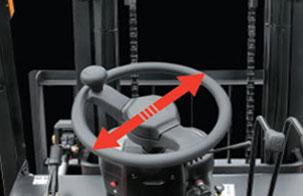 4.直径较小的方向盘-杭州叉车内燃叉车
