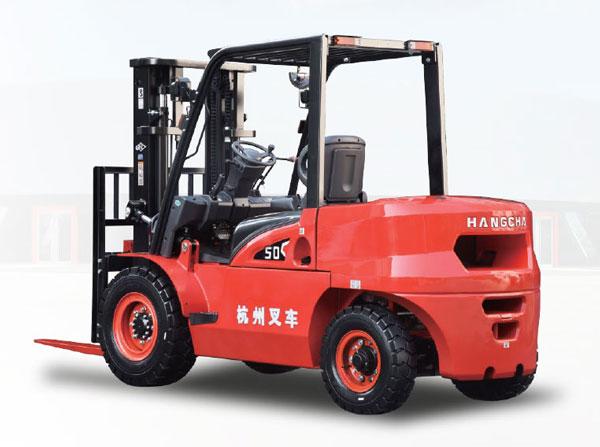 产品图片-X系列小5吨内燃叉车(后侧面)