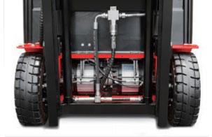 7.的双电机双减速箱驱动单元-杭州叉车电动叉车