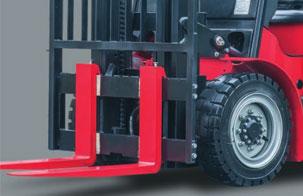 3.实心轮胎,免维护,更耐用-杭州叉车电动叉车